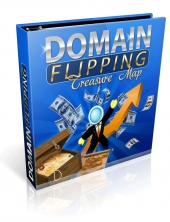 Domain Flipping Treasure Map eBook with Private Label Rights