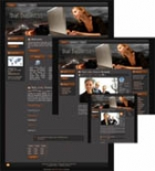Business Web Template 1 Template with Master Resale Rights