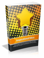 Inspirational Ideas eBook with private label rights