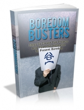 Boredom Busters eBook with Master Resale Rights