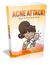 Acne Attack! eBook with Master Resale Rights