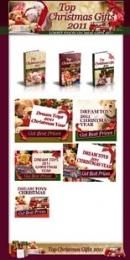 Top Christmas Gifts 2011 Template with Master Resale Rights