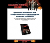 Halloween Costumes For Men Template with Master Resale Rights