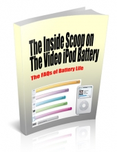 The Inside Scoop On The Video iPod Battery eBook with Private Label Rights