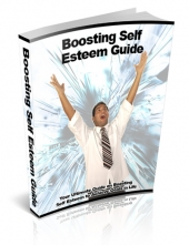 Boosting Self Esteem Guide eBook with private label rights