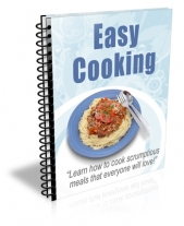 Easy Cooking Newsletter eBook with Private Label Rights