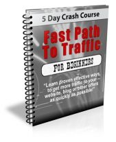 Fast Path To Traffic For Beginners eBook with Private Label Rights