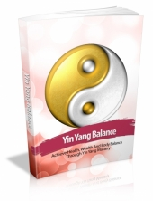 Yin Yang Balance eBook with private label rights