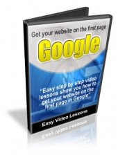 Get Your Website On The First Page Of Google Video with Resale Rights