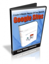 Create A Mobile Version Of Your Website Using Google Sites Video with Resale Rights