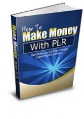 How To Make Money With PLR eBook with Resale Rights