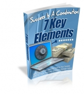Success Is A Combination! 7 Key Elements eBook with Private Label Rights