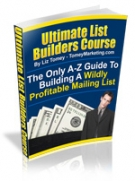 Ultimate List Builders Course eBook with Resell Rights