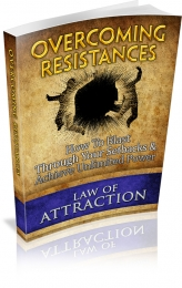 Overcoming Resistances eBook with private label rights