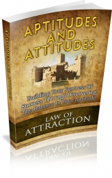 Aptitudes And Attitudes eBook with Master Resale Rights