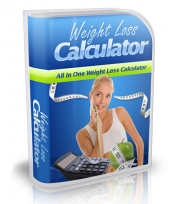 Weight Loss Calculator Software with Master Resale Rights