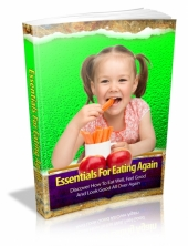 Essentials For Eating Again eBook with private label rights
