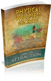 Physical Wellness Secrets eBook with private label rights