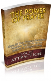 The Power Of Prayer eBook with private label rights
