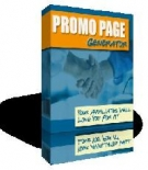 Promo Page Generator Software with Master Resell Rights