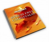 100 Tips For A Stress Free Christmas eBook with Master Resale Rights