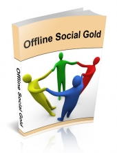 Offline Social Gold eBook with Private Label Rights