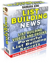 List Building News eBook with Private Label Rights