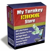 My Turnkey Ebook Store Software with Master Resale Rights