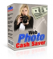 Web Photo Cash Saver Software with Master Resale Rights