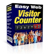 Easy Web Visitor Counter Software with Master Resale Rights