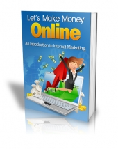 Let's Make Money Online PLR eBook with Private Label Rights