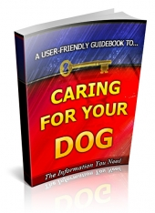 Caring For Your Dog eBook with Private Label Rights