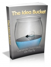 The Idea Bucket eBook with private label rights
