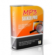 MP3 Seeker Pro Software with Master Resell Rights