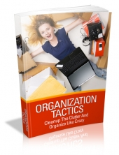 Organization Tactics eBook with private label rights