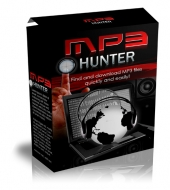 MP3 Hunter Software with Master Resell Rights