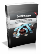 Debt Destroyer eBook with Master Resell Rights