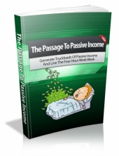 The Passage To Passive Income eBook with private label rights