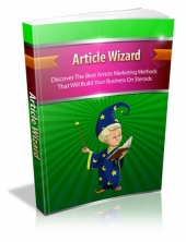 Article Wizard eBook with Master Resell Rights
