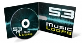 53 Music Loops Audio with Private Label Rights