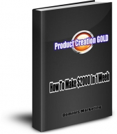 Product Creation Gold eBook with Resell Rights