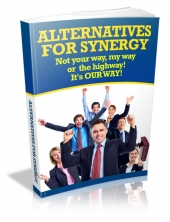 Alternatives For Synergy eBook with Master Resell Rights