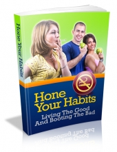 Hone Your Habits eBook with private label rights