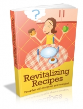 Revitalizing Recipes eBook with private label rights