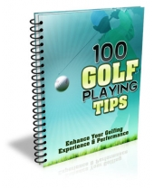 100 Golf Playing Tips eBook with Master Resell Rights