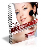 100 Beauty Tips eBook with Master Resell Rights