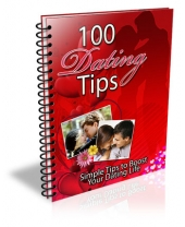 100 Dating Tips eBook with Master Resell Rights