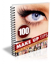 100 Make Up Tips eBook with Master Resell Rights