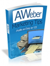 Aweber Marketing Tips eBook with Master Resell Rights