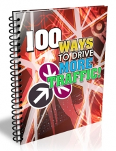 100 Ways To Drive More Traffic eBook with Master Resell Rights